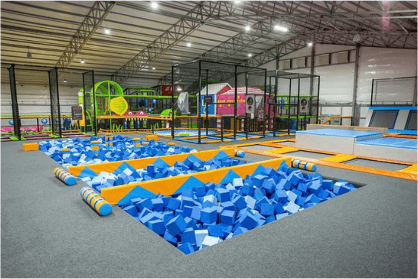 Designing  a soft play centre