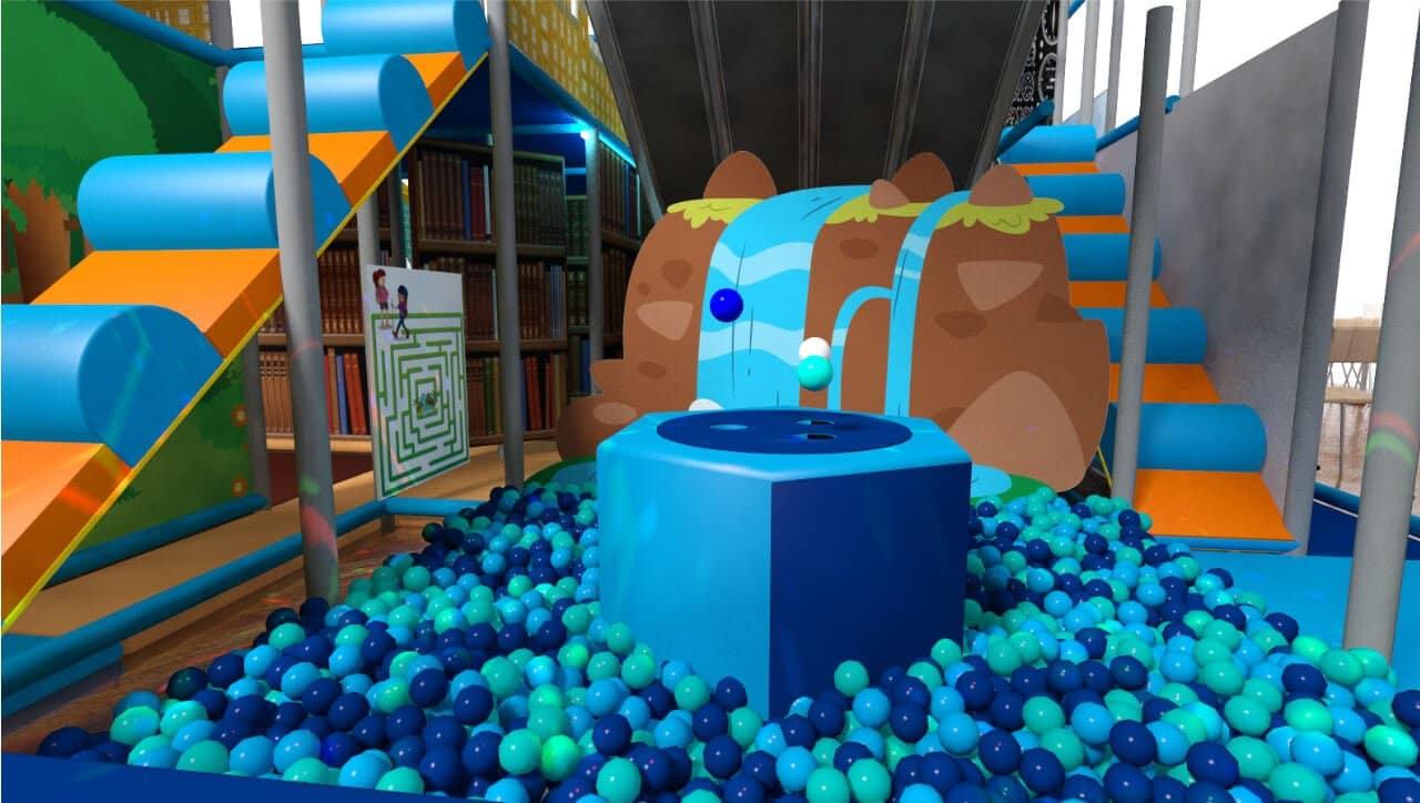 Ball pool indoor playground